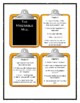 Series of Unfortunate Events THE MISERABLE MILL - Discussion Cards