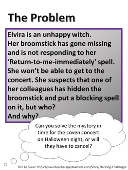 The Missing Broomstick