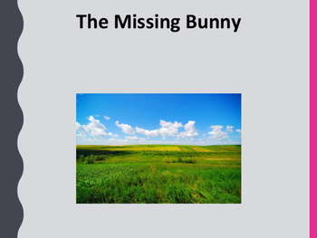 The Missing Bunny intermediate reader