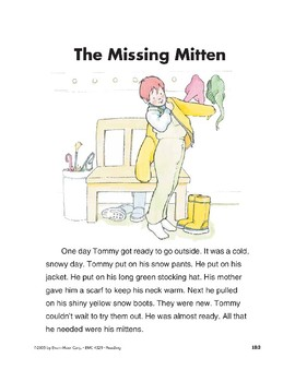 The Missing Mitten