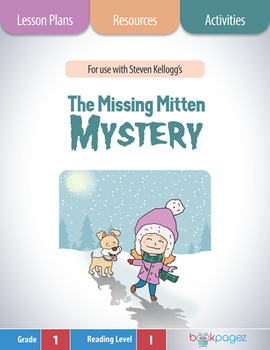 The Missing Mitten Mystery Lesson Plans & Activities Package, First Grade (CCSS)
