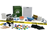 The Missing Money Mystery Home School Forensic Science Kit
