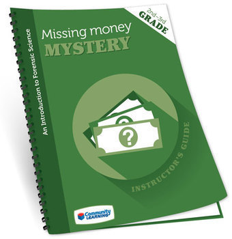 The Missing Money Mystery Essential Supply Forensic Science Kit Grades 2-3