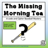 Whodunit Mystery Activities : The Missing Morning Tea