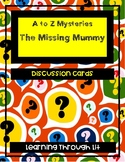 A to Z Mysteries THE MISSING MUMMY Discussion Cards PRINTABLE / SHAREABLE!