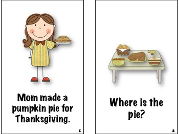 The Missing Pie Story and Retelling Activities