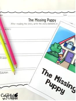 The Missing Puppy: A Retelling Activity