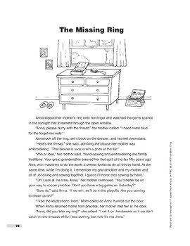 The Missing Ring (Lexile 690)