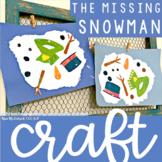 The Missing Snowman Craft FREEBIE