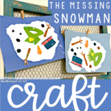 The Missing Snowman Craft FREEBIE