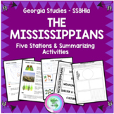 The Mississippians - GSE SS8H1 a - Stations Activity