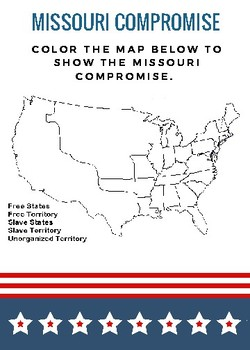 The Missouri Compromise Map