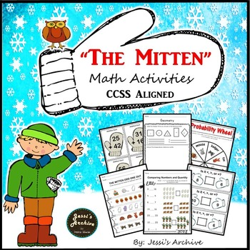 Mitten: Math Activities for The Mitten by Jan Brett