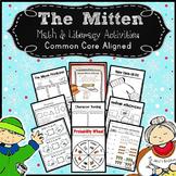Mitten: Math & Literacy Activities for The Mitten by Jan Brett