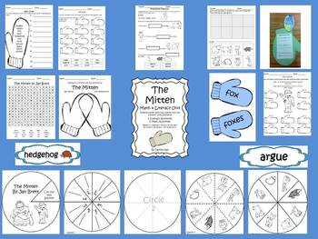 The Mitten: 90 page differentiated literacy and math unit