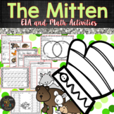 The Mitten by Jan Brett - Winter Literacy and Math Activities