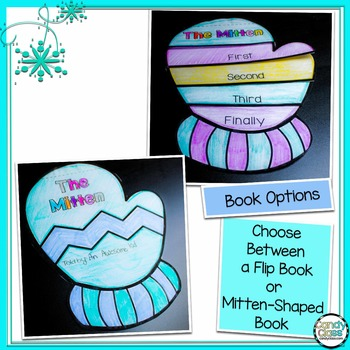 Winter Writing Craftivity for The Mitten by Jan Brett