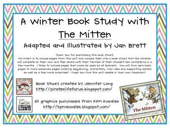 The Mitten-A Winter Book Study