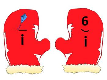 The Mitten - A Winter long and short vowel sorting activity