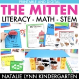 The Mitten Activities   Literacy Math STEM   Printable and