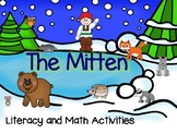 The Mitten Literacy and Math Activities for Pre-K and Kind