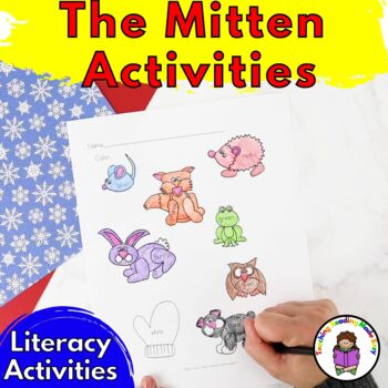 Activities for The Mitten for Preschool/Kindergarten