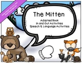 The Mitten Adapted Book with Speech & Language Activities