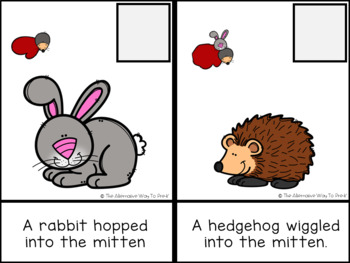 The Mitten Adapted and Interactive Book