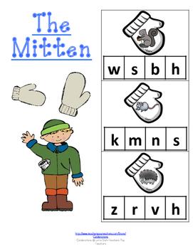 The Mitten-Animals