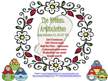 The Mitten: Articulation