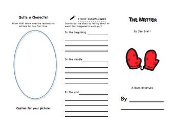 The Mitten Book Brochure