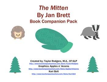 The Mitten- Book Companion