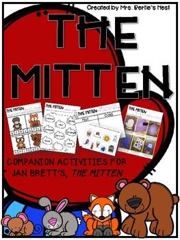The Mitten - Book Companion Activities