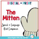 The Mitten: Book Companion for Preschool Speech and Language With Google Slides