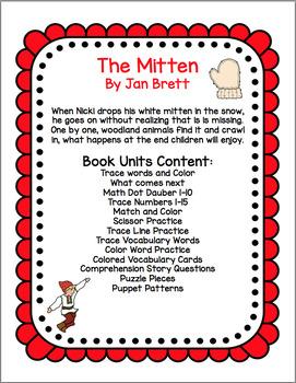 The Mitten  Book Unit