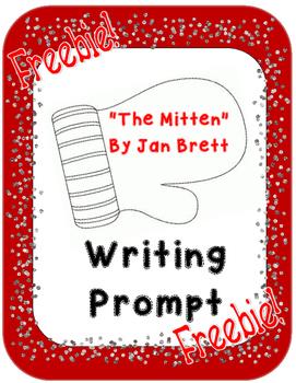 The Mitten By Jan Brett Writing Prompt - FREEBIE!