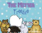 The Mitten Class Book FREEBIE {Jan Brett}