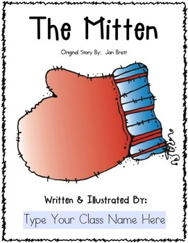 The Mitten Class Book FREEBIE {Jan Brett}