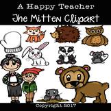 The Mitten Clipart - A Happy Teacher