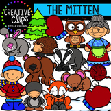 The Mitten Clipart {Creative Clips Clipart}