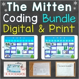 The Mitten Coding Practice Bundle Print & Digital Versions