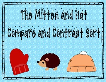 The Mitten Compare and Contrast Unit