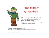 """""""The Mitten"""" Comprehension Questions"""