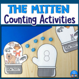 The Mitten Counting Activities