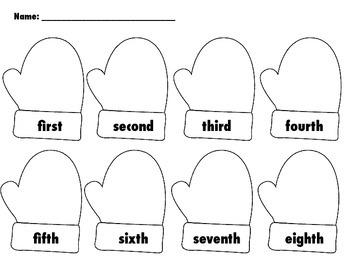 The Mitten Cut, Sequence, Glue