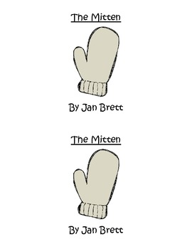 The Mitten Easy/Emergent Reader