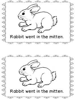 The Mitten Emergent Reader