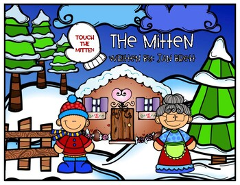 The Mitten NO PRINT FULLY INTERACTIVE PDF