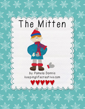 The Mitten {Felt Story Set}