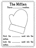 The Mitten Sequencing Worksheet